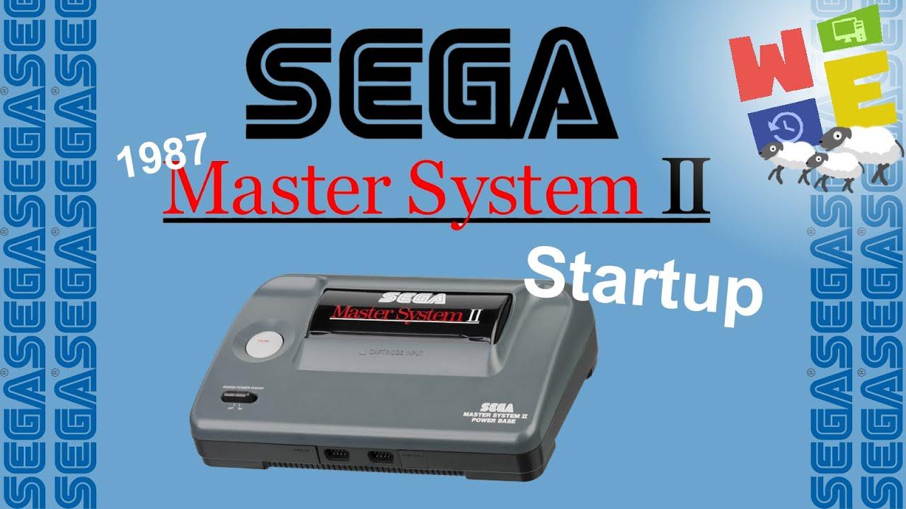 SEGA MASTERSYSTEM 2 - STARTUP (1987)