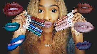 Colourpop Ultra Matte Lip Swatches! | VICKYLOGAN