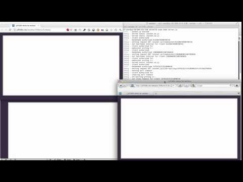 Realtime Canvas Draw with Node.js, Web Sockets, and Socket.io