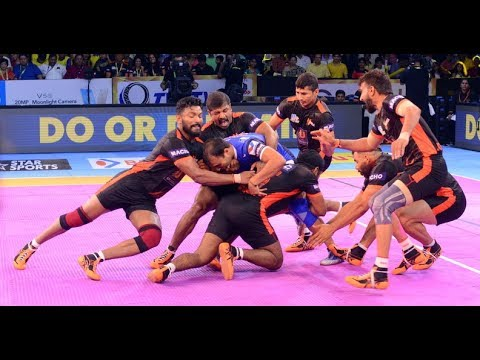 Pro Kabaddi 2017: U Mumba Beat Haryana...