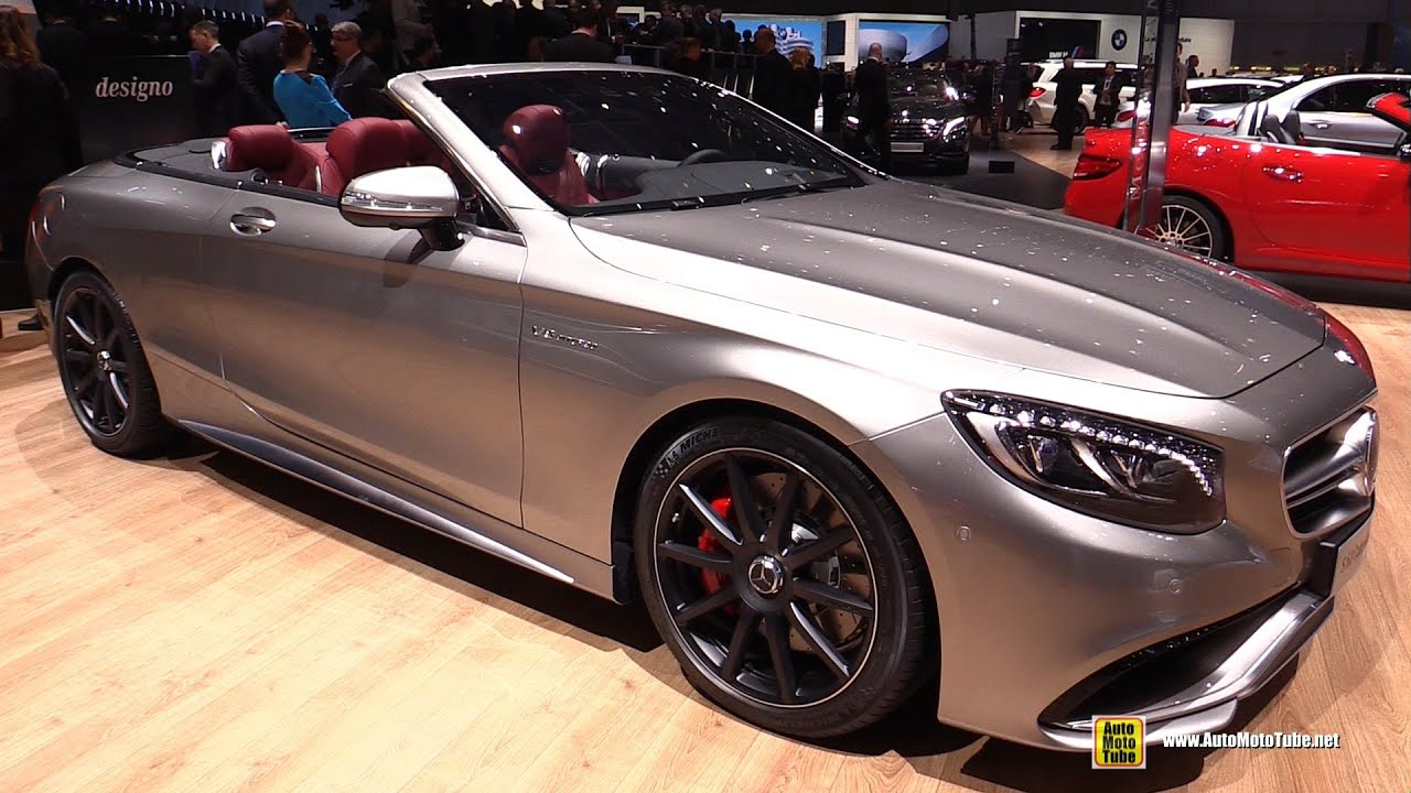2016 Mercedes AMG S63 4Matic Cabriolet Edition 130 - Exterior and ...