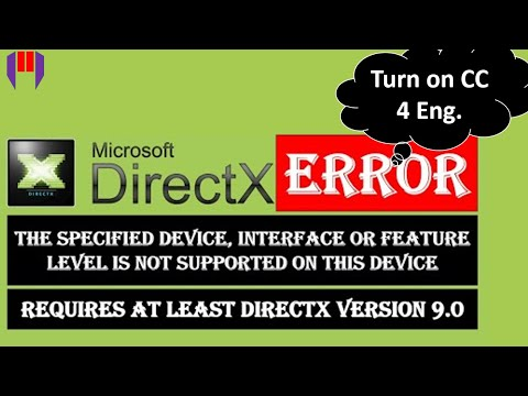 How to Fix DirectX Error When You Run a Game on PC