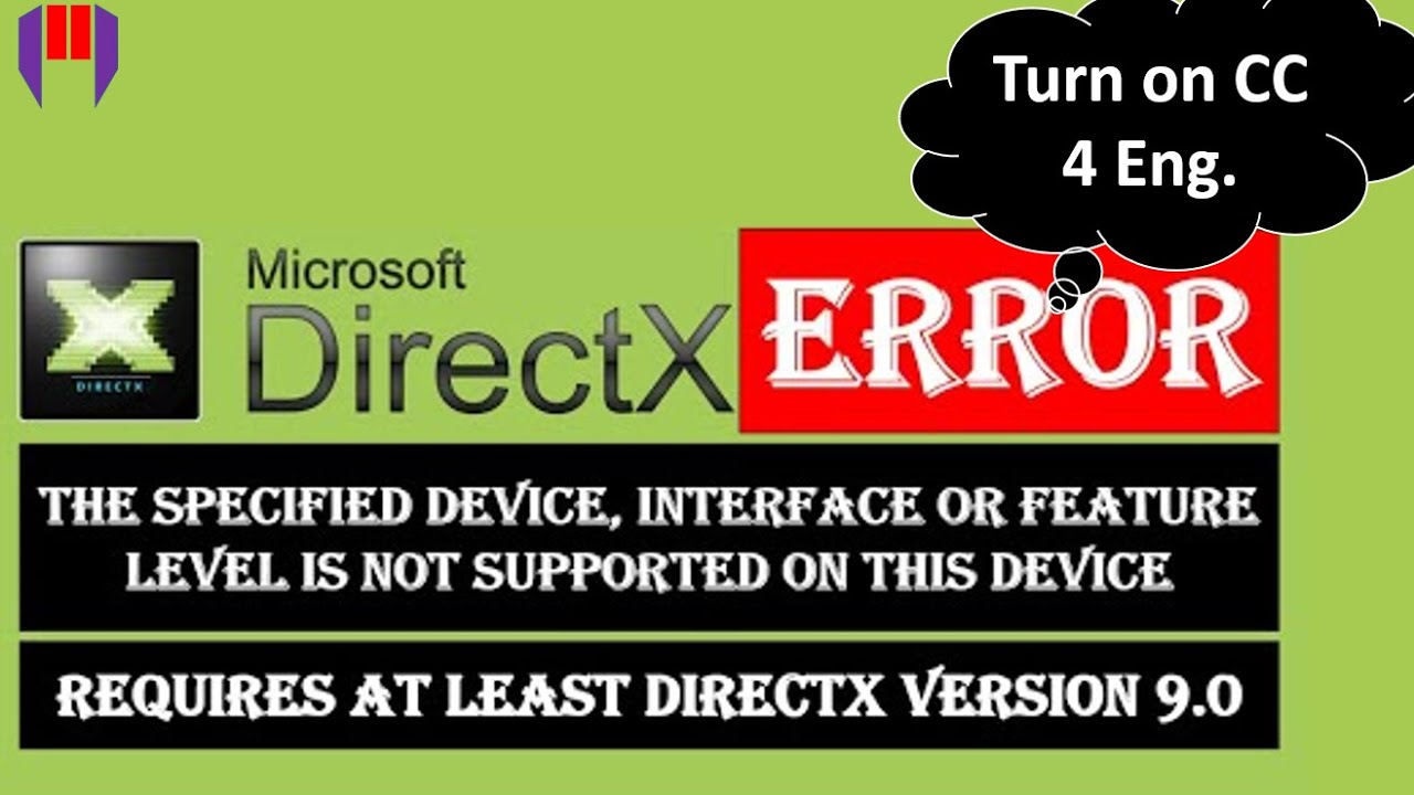 Download How to Fix DirectX Error When You Run a Game on PC