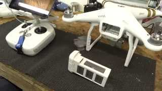 DJI Phantom 3 & Phantom 4 Battery Information & Maintenance