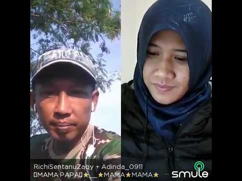Smule Top Richi feat Adinda - Mama Papa