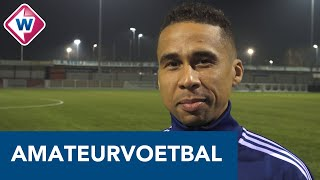 Katwijk-spits Marciano Mengerink blikt vooruit op Koninklijke HFC - Katwijk - OMROEP WEST SPORT