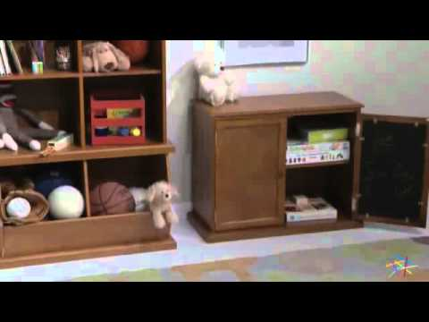 Clic Playtime Hopscotch Stackable Toy Storage Product Review Video