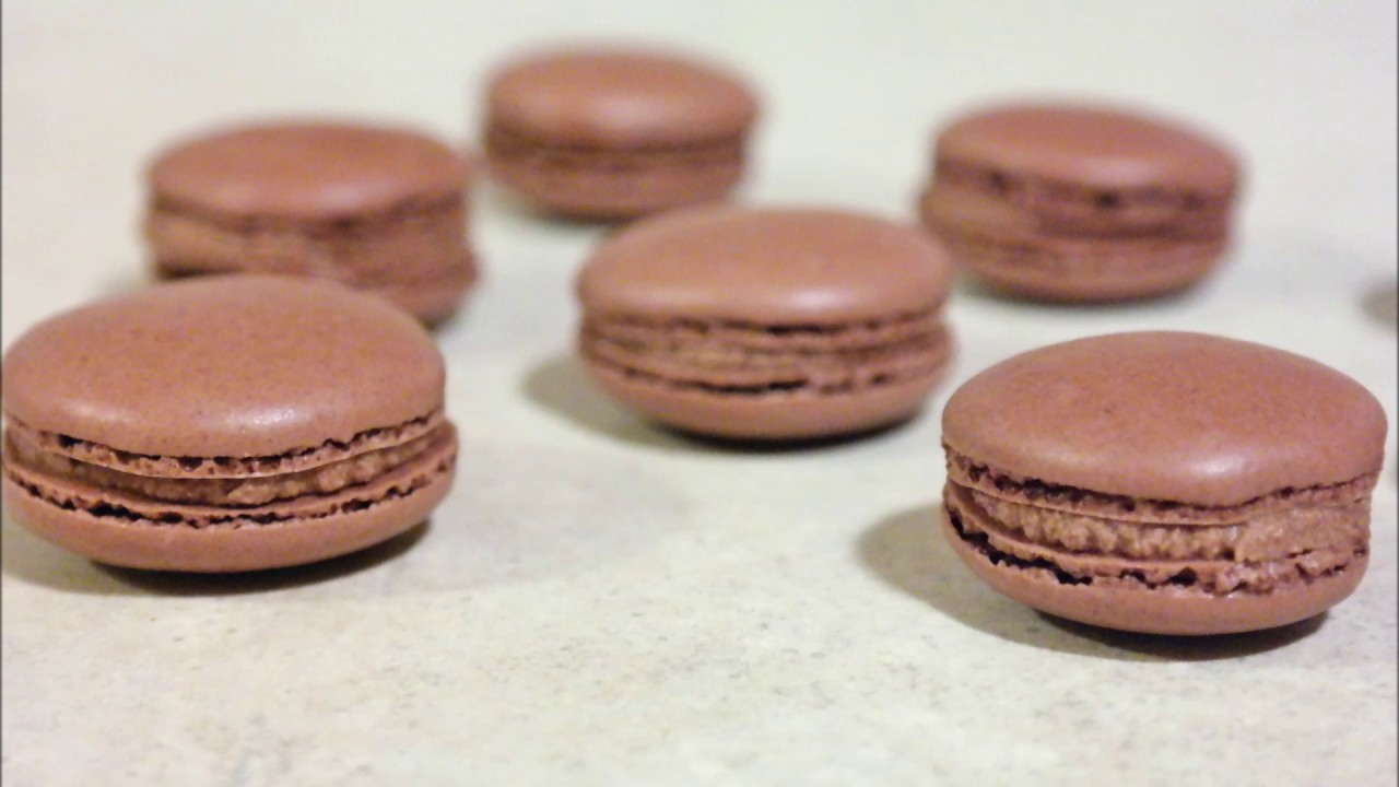 Chocolate Macarons Recipe Without Almond Flour Youtube