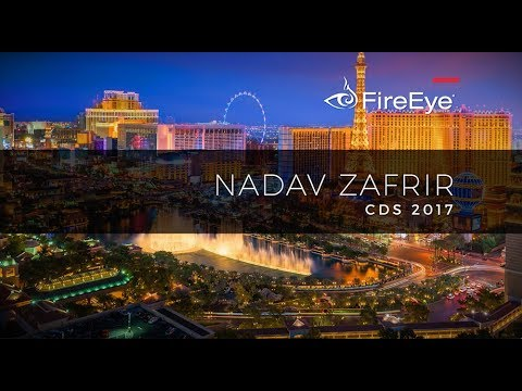 FireEye Cyber Defense Summit Keynote Series: Team8 Co-Founder and CEO Nadav Zafrir