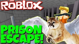 PRISON ESCAPE in ROBLOX! (Prison Life v2.0)
