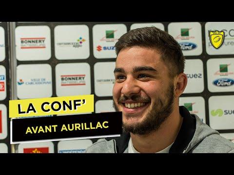 USC TV : Maxime Castant avant Aurillac (J23)