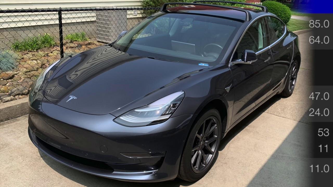 Tesla Model 3 Frunk and Trunk Temperatures