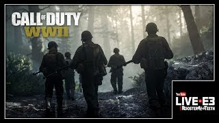 Call of Duty World War II MULTIPLAYER GAMEPLAY & Details - YouTube Live at E3