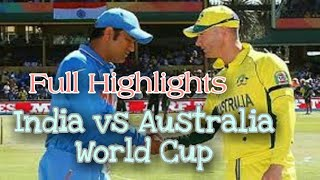 India Vs Australia - Twenty20 World Cup Semi Final 2007 - Full Highlights