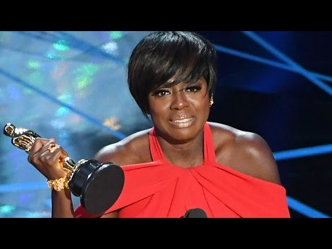 Thumbnail: Viola Davis Wins Best Supporting Actress & Gives AMAZING Speech At 2017 Oscars