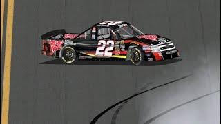 2012 Nextera Energy Resources 250 Joey Coulter Crash | NR2003 Reenactment (No Video)