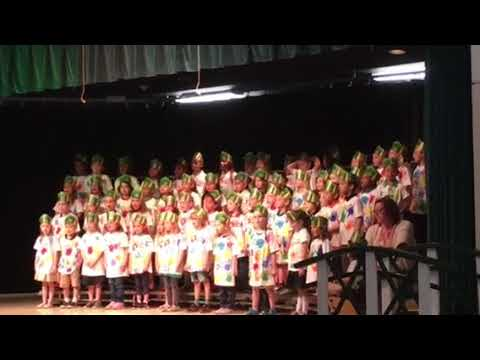 2019 Deltona elementary school kindergarten graduation