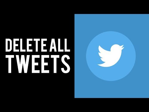 Delete ALL Tweets on Twitter Account | How To Delete ALL Tweets at Once
