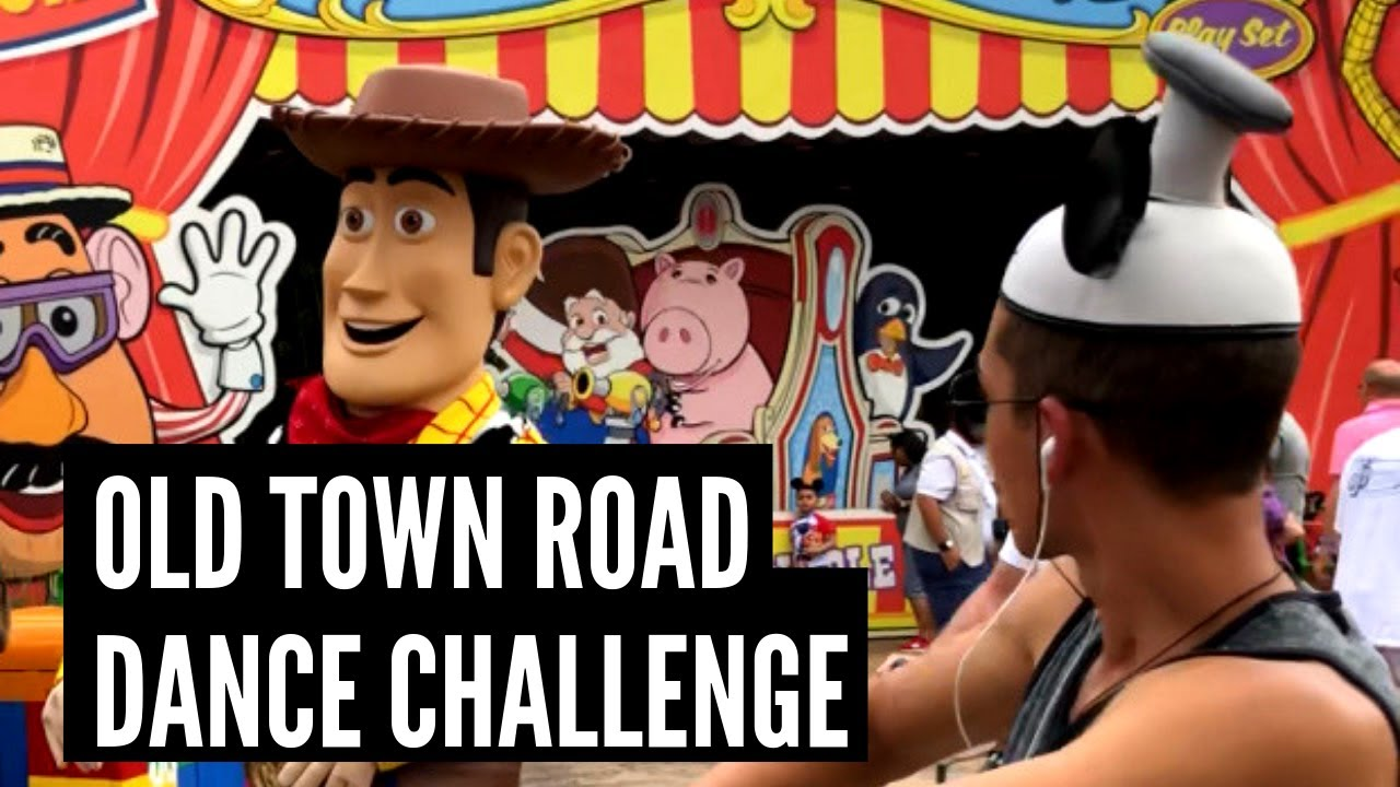 Download Lil Nas X - Old Town Road (feat. Billy Ray Cyrus) [Remix]   DANCE CHALLENGE @ DISNEY WORLD
