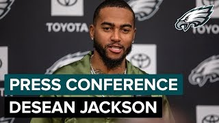DeSean Jackson on Being Back Home & How He
