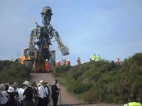 Man Engine at Geevor Mine 2016