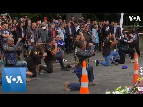 Keith and Tony - Biker Gangs Vow To Stand Guard At NZ Mosques During Friday Prayers