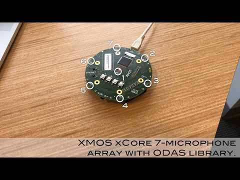 ODAS: Mutiple Sound Source Localization, Tracking and Separation with Microphone Array