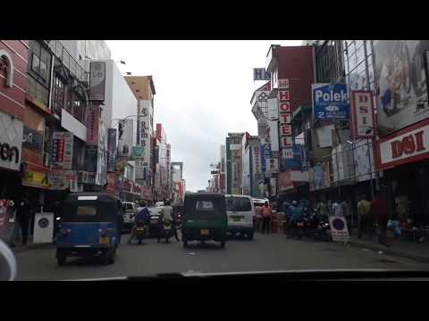 Pettah, Colombo, Sri Lanka on a Saturday in August 2017