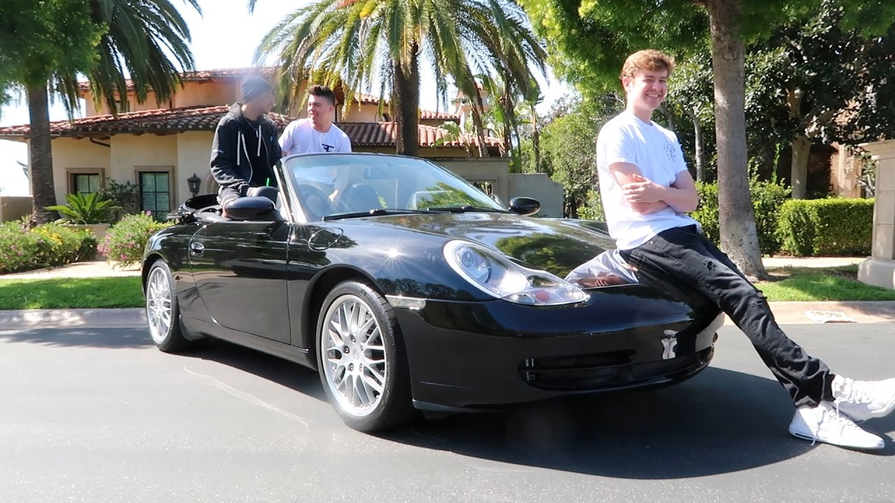 My New Car: MY NEW CAR AT THE FAZE HOUSE LA!