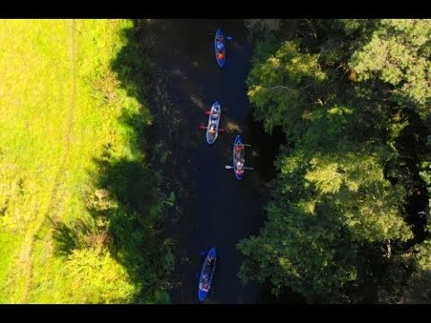 Welcome to the blue-eyed Belarus!(Kayaking along the Svisloch river)