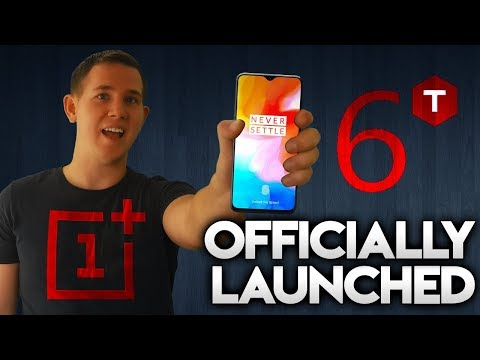 ONEPLUS 6T OFFICIALLY LAUNCHED & GREAT NEWS FOR USA CUSTOMERS!