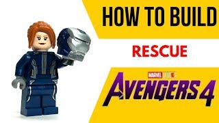 HOW TO Build RESCUE from Avengers 4!