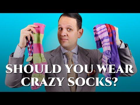 Should You Wear Crazy Socks / Colorful Happy Socks ?