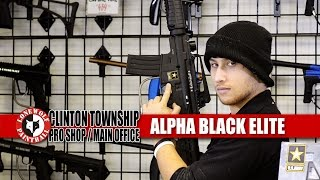 Tippmann US Army Alpha Black Elite M-16 Lone Wolf Paintball Michigan
