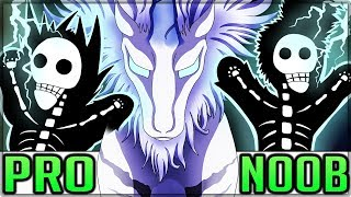 PSYCHO PONY ELDER DRAGON - Pro and Noob VS Monster Hunter World Multiplayer! (Tempered Kirin)