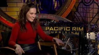 Cailee Spaeny Talks About Her FIRST Major Film, PACIFIC RIM UPRISING!