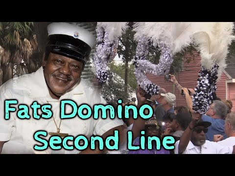 Fats Domino Memorial - Second Line - 11/1/17 - 9th Ward New Orleans