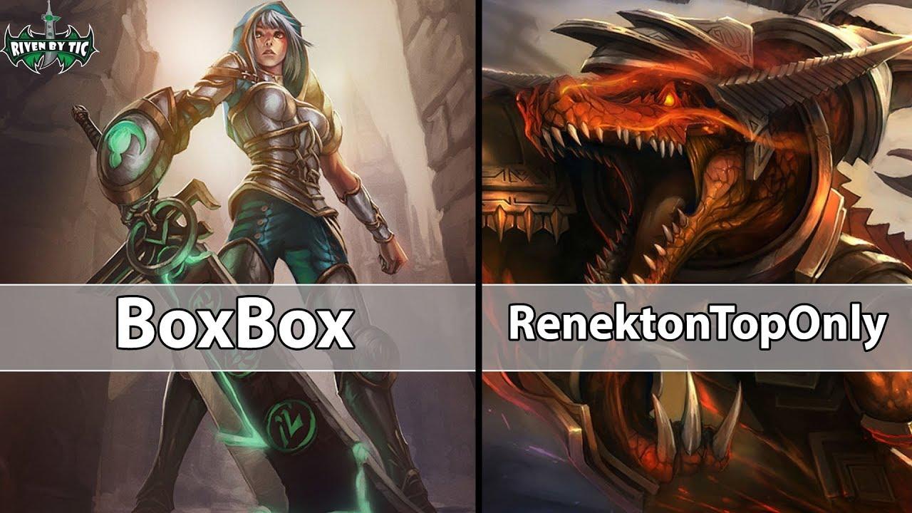 🔴[ BoxBox ] Best Riven vs Best Renekton[ RenektonTopOnly ] Top – REAL TRYHARD REAL FOCUS
