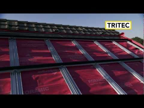 TRI-ROOF: Roof-integrated PV System by TRITEC