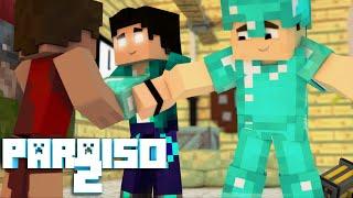 Minecraft: PARAÍSO 2 - #09 EQUIPAMENTOS LENDÁRIOS!