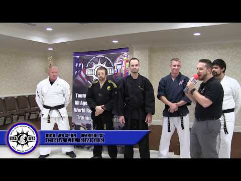 USBA/WBA Black Belt Challenge- Hall of Fame- 11/4/2017