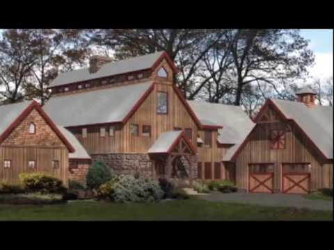 Barn Plans From Riverbend Timber Framing