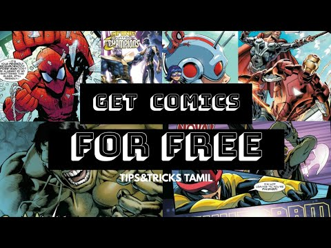 Download All Comics For FREE  Tips&Tricks Tamil