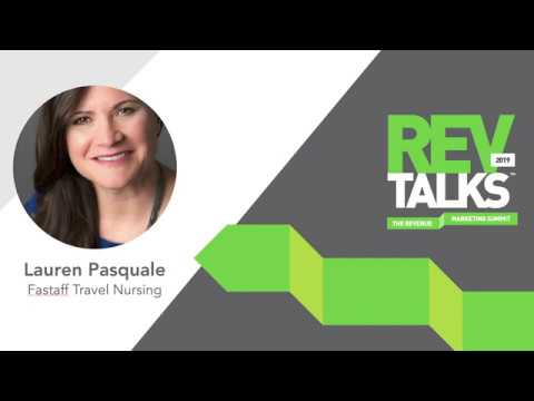 The Discipline of Revenue Marketing = The Freedom of Creativity | Lauren Pasquale at RevTalks 2019
