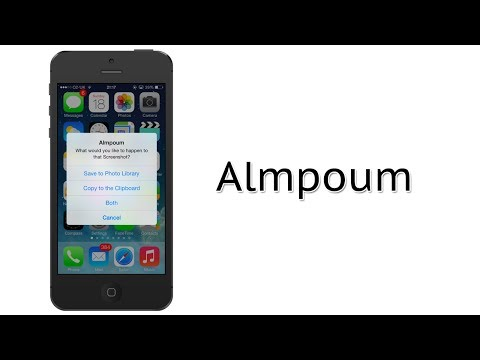 More Options When Taking Screenshots on iOS | Almpoum Cydia Tweak Review