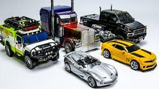 Transformers Movie 3 DOTM Autobots Optimus Prime Bumblebee Ironhide Ratchet Sideswipe Car Robot Toys