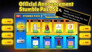 [Confirmed] Stumble Guys New Update 0.31v Leaks | Stumble Pass S2 Is Here | Stumble Guys