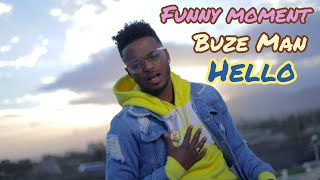 """Ethiopian music : Funny moment from behind the scenes of Buze Man, New Music video """"Hello"""" making."""