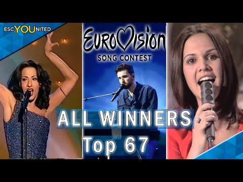 Eurovision: All Winners 1956-2019 | Top 67