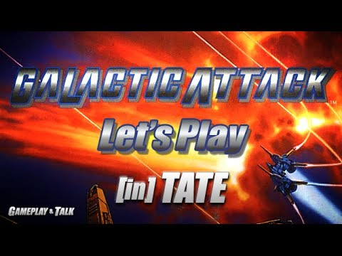 Let's Play Galactic Attack for the Saturn, in TATE